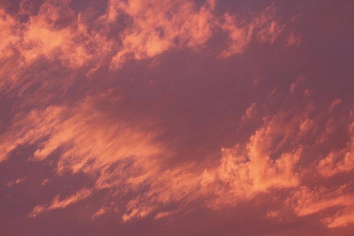 Ciel juste avant L'orage