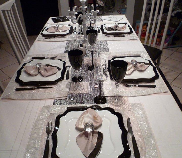 Premier repas de fetes dans la maison