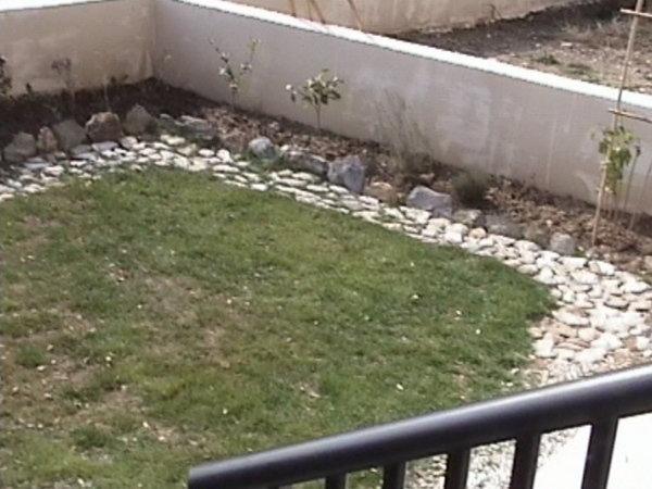 Aménagement du jardin : une allée en ardoise