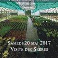 Visite des serres de culture des Jardins des Martels (GIROUSSENS, 81)