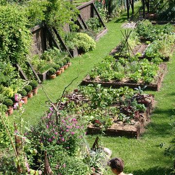 Jardin de l 39 escalier brumath 67 for Jardins de jardiniers