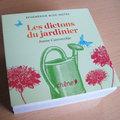 Livre : Les dictons du jardinier