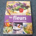 Livre : cuisinons les fleurs