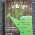 Livre :  calendrier du jardinage