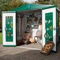 Optimiser l'espace dans un abri de jardin