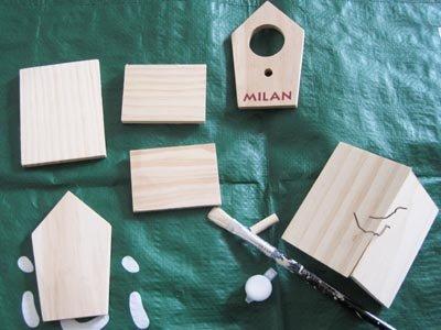 am nagement du jardin un nichoir oiseaux. Black Bedroom Furniture Sets. Home Design Ideas