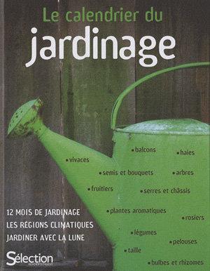 Calendrier du jardinage livre for Horaire jardinage
