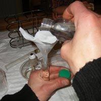 4 - Préparation de l'hypochlorite :