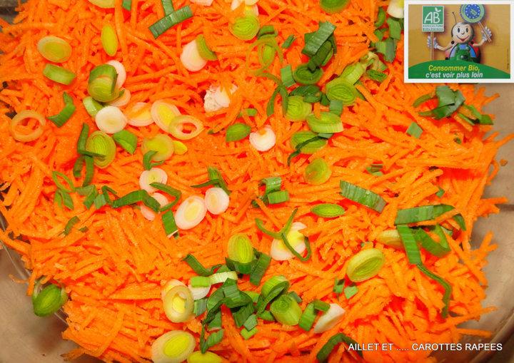 Aillet et carottes rapées