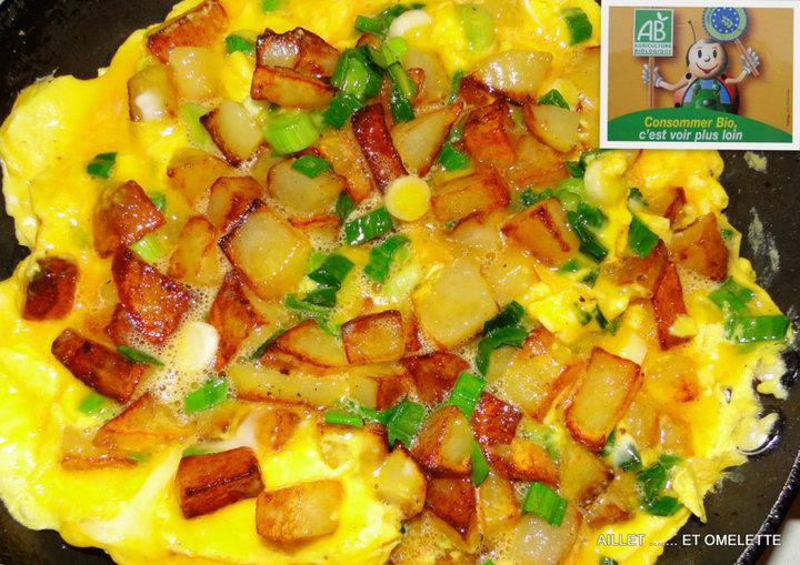 Aillet et omelette