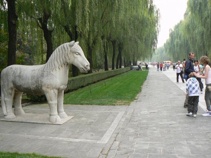 Allée des tombeaux Mings