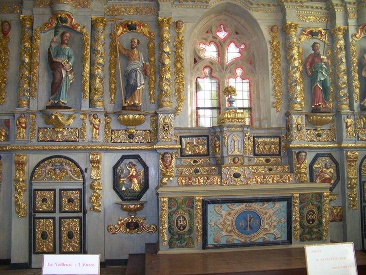 Chapelle du Menz-hom ..