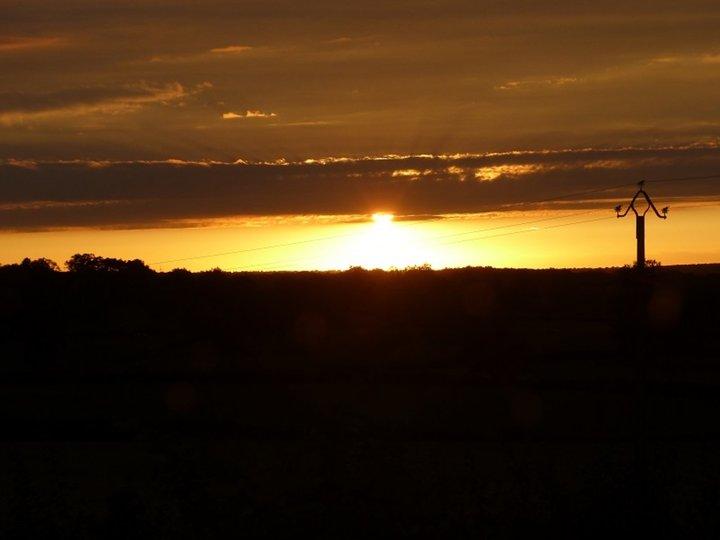 Ciel,coucher du soleil