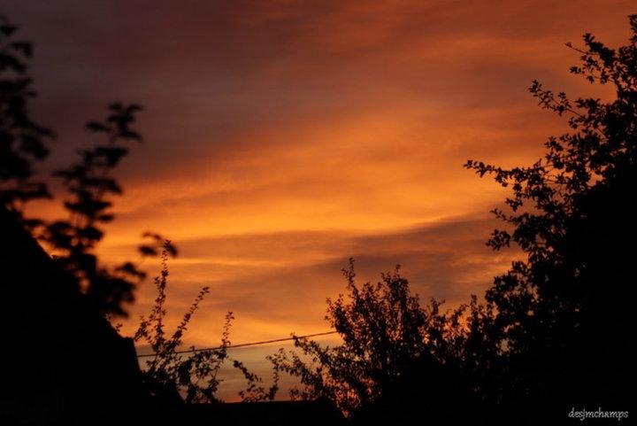 Coucher de soleil septembre 2019