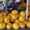fruits et légumes du soul El Had à Agadir (septembre 2017)