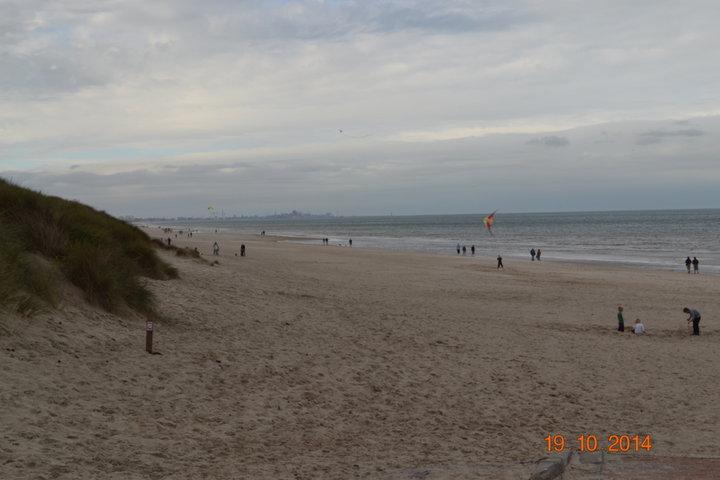 Des kilometres de sable fin