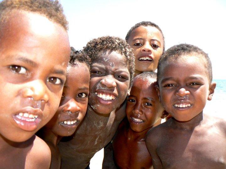 Enfants des plages.