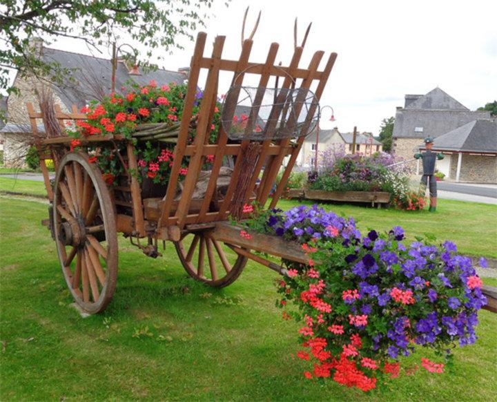 Glénac village fleuri