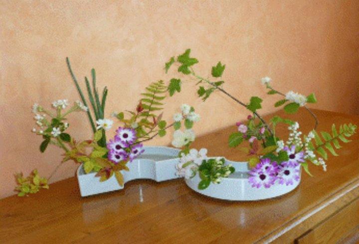 IKEBANA - bouquet de printemps