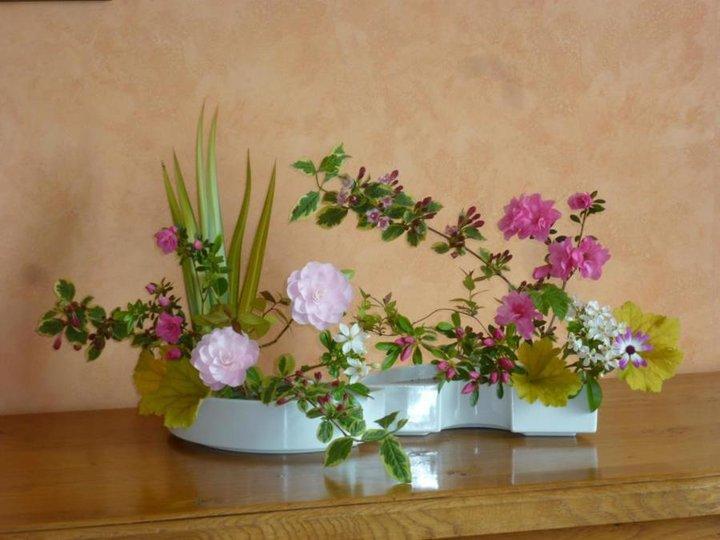 IKEBANA - fleurs du jardin