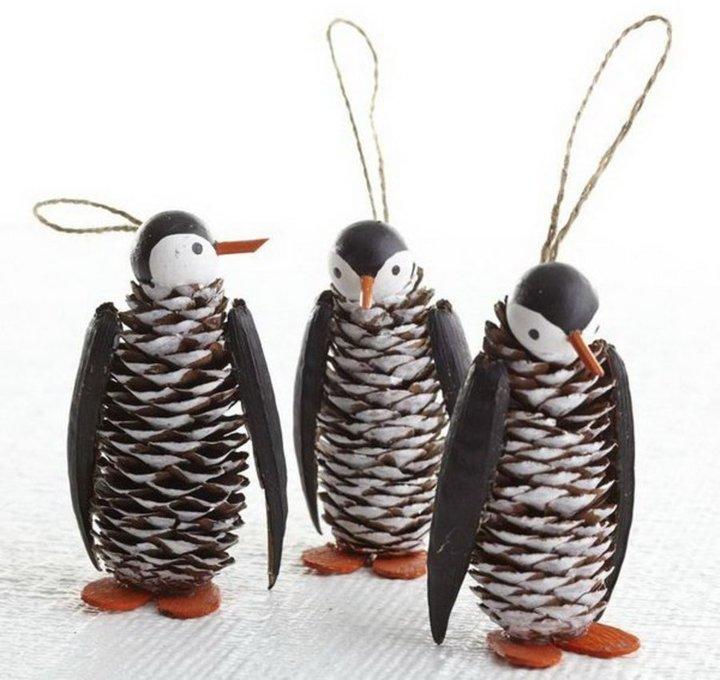 Ils sont beaux les pingouins ..