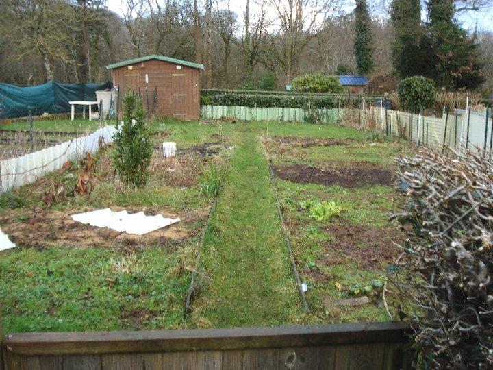 J'ai eu mon jardin aujourd'hui même
