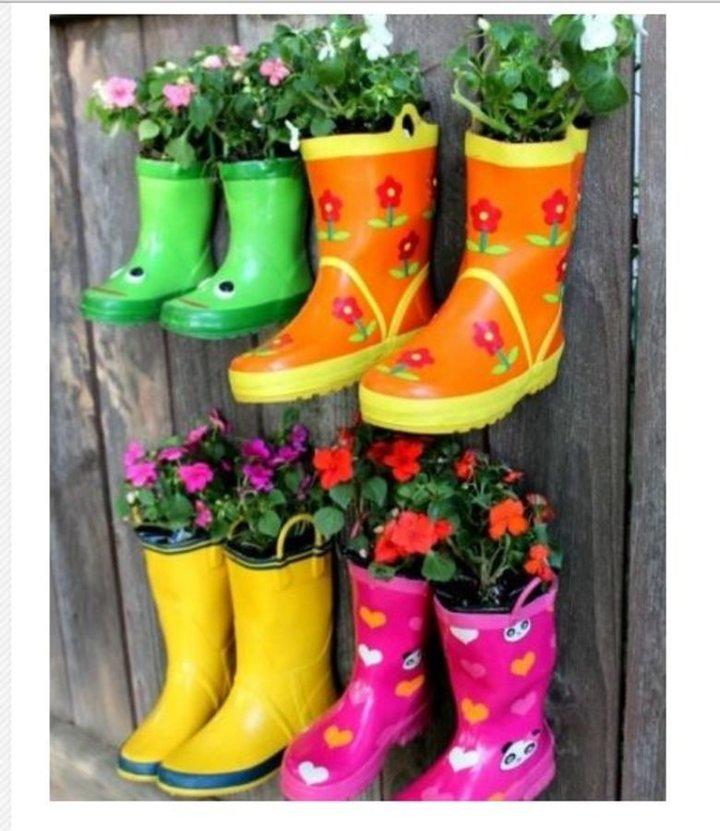 Jardinieres fleuries