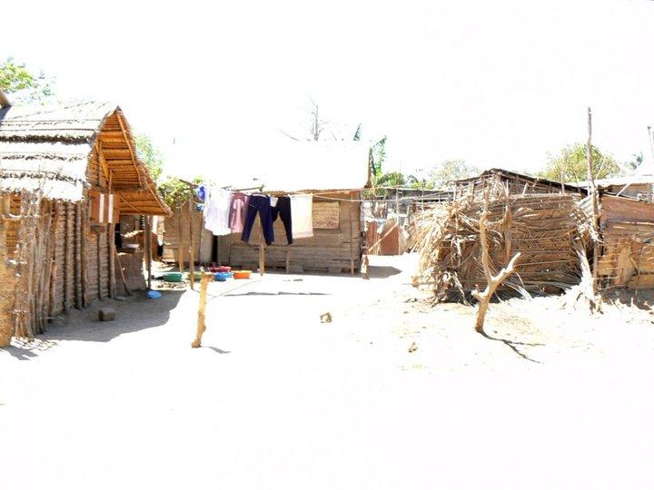 Mada les maisons de certain villageois.