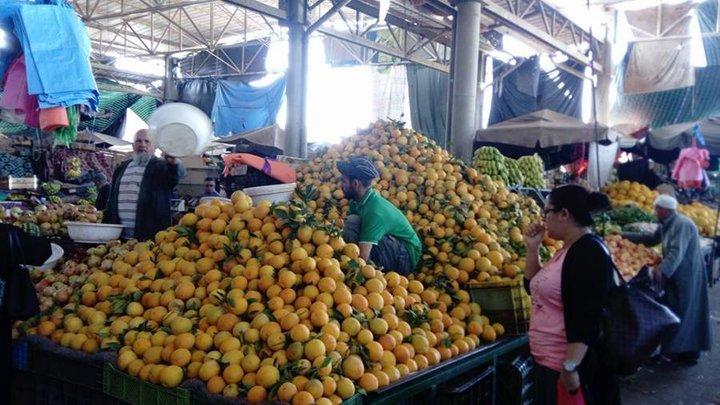 Monceaux d'oranges