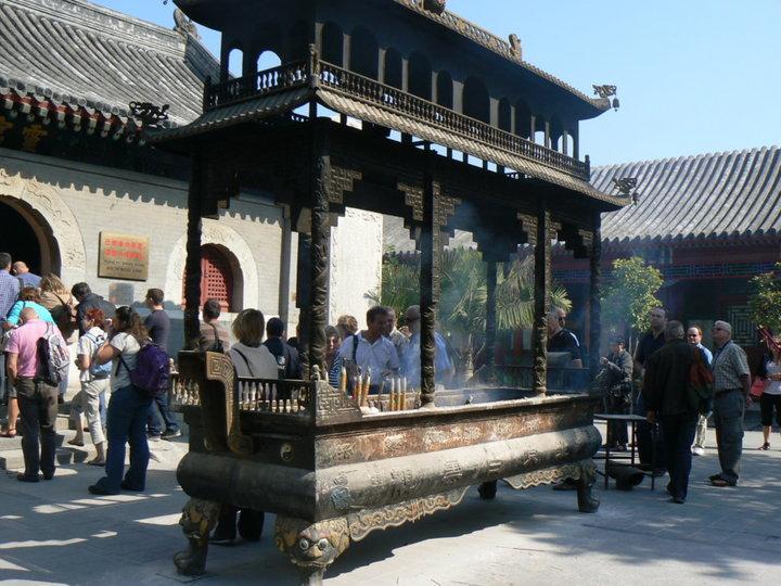 Parcs et temple