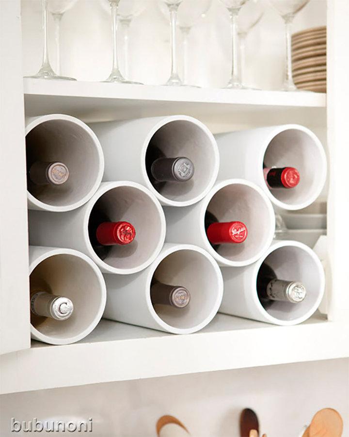 Présentoir de bouteilles à vin