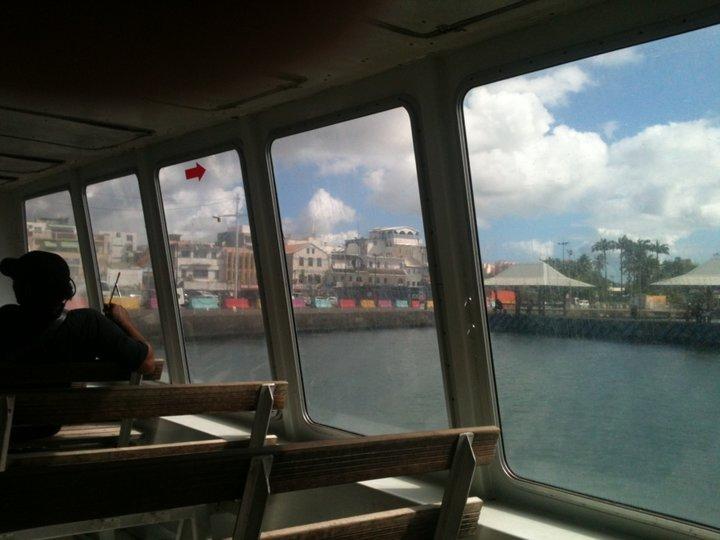 Sur le bateau 'navette