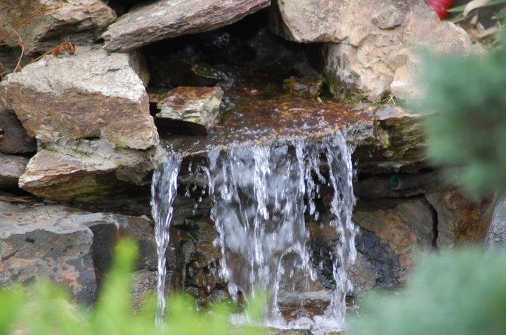 Un bout de fontaine
