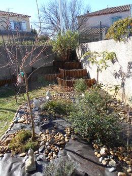 Réaménagement du jardin