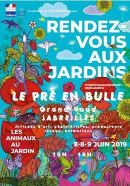 R.D.V. AU JARDIN LES 8 et 9 JUIN 2019 JABREILLES (87) SUR LE THÈME DES ANIMAUX AU JARDIN