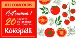 Jeu concours KOKOPELLI (semence tomate)