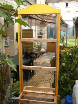 structure de mon mur végétal