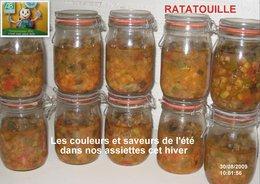 CONSERVES DE RATATOUILLE