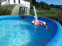 Quel type de piscine près du potager ?