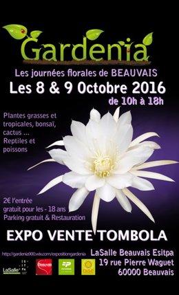 Exposition et vente plante carnivoire Beauvais 8-9 octobre 2016
