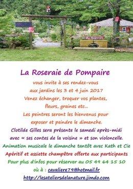 échanges et trocs à La Roseraie de Pompaire