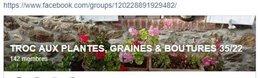 Présentation groupe facebook troc aux plantes