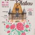 Le jardin s'invite au château de Crévecoeur (MéZIDON VALLéE D'AUGE, 14)