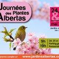 Les 24, 25 et 26 mai 2019 : 27e édition des Journées des Plantes d'Albertas (BOUC-BEL-AIR, 13)