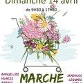 Marché aux fleurs (SIMORRE, 32)
