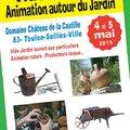 Vide Jardin NATUR'ANIMO 2 ème édition (SOLLIES, 83)
