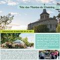 5ème FETE DES PLANTES DE CHATELOY (HERISSON, 03)