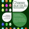 Chasse aux œufs - Nature & Grand Siècle (SAINT-JEAN DE BEAUREGARD, 91)