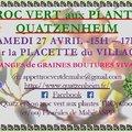 TROC VERT aux PLANTES (QUATZENHEIM, 67)