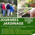 Journée jardinage à Valsaintes : engrais verts et compost au potager (SIMIANE LA ROTONDE, 04)